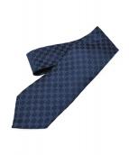 GUCCI(グッチ)の古着「GG柄ネクタイ」 ブルー