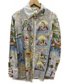 HERMES(エルメス)の古着「mont saint michel shirts」|グレー