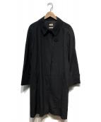HERMES(エルメス)の古着「ステンカラーコート」 グレー