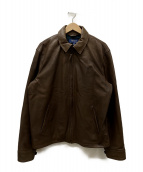 POLO RALPH LAUREN(ポロラルフローレン)の古着「シングルライダースジャケット」 ブラウン