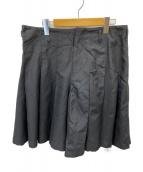 COMME des GARCONS HommePlus(コムデギャルソンオムプリュス)の古着「プリーツキュロット」|ブラック