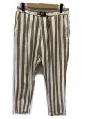 WHITE SAND(ホワイトサンド)の古着「イージーパンツ」|ベージュ