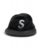 Supreme(シュプリーム)の古着「Washed Denim S Logo 6-Panel」 ブラック