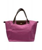 LONGCHAMP(ロンシャン)の古着「トートバッグ」 ピンク
