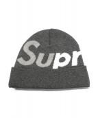 Supreme(シュプリーム)の古着「Big Logo Beanie」|グレー