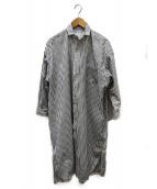 TICCA(ティッカ)の古着「コットンスクエアビッグシャツワンピース」|ホワイト