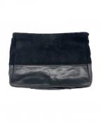 azabu tailor(アザブテーラー)の古着「クラッチバッグ」 ブラック