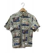 reyn spooner(レインスプーナー)の古着「アロハシャツ」|ベージュ