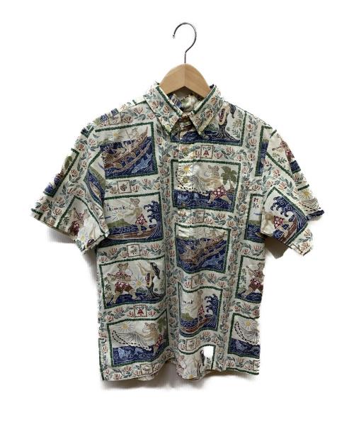reyn spooner(レイン スプナー)reyn spooner (レインスプーナー) アロハシャツ ベージュ サイズ:SIZE XLの古着・服飾アイテム