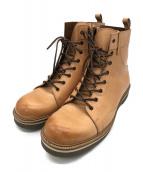 GLAMB(グラム)の古着「Slinky boots」 ベージュ