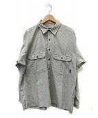 Patagonia(パタゴニア)の古着「チェックシャツ」|グレー×ベージュ