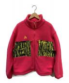 NIKE ACG(ナイキエーシージー)の古着「MICROFLEECE JAKETS」|ピンク