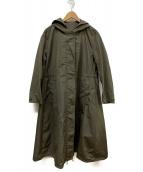 S Max Mara(エス マックスマーラ)の古着「ナイロンコート」|カーキ