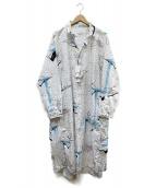 tsumori chisato(ツモリチサト)の古着「シャツワンピース」|ホワイト