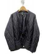 MAGIC STICK(マジックスティック)の古着「キルティングライナージャケット」|ブラック