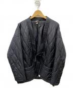 MAGIC STICK(マジックスティック)の古着「キルティングライナージャケット」 ブラック