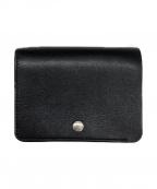 STANDARD SUPPLY(スタンダードサプライ)の古着「2つ折り財布」 ブラック