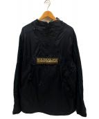 NAPAPIJRI(ナパピリ)の古着「アノラックパーカー」|ブラック