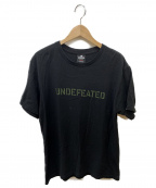 UNDEFEATED(アンディフィーテッド)の古着「ロゴtシャツ」|ブラック