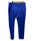 ()の古着「コットンパンツ」|ブルー