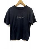 YOHJI YAMAMOTO(ヤマモトヨウジ)の古着「T-SHIRTS」|ブラック