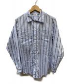 KAIKO(カイコー)の古着「ストライプシャツ」|ブルー