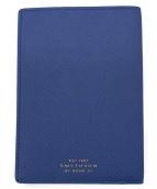 SMYTHSON(スマイソン)の古着「PANAMA P/PORT COVER」|ブルー