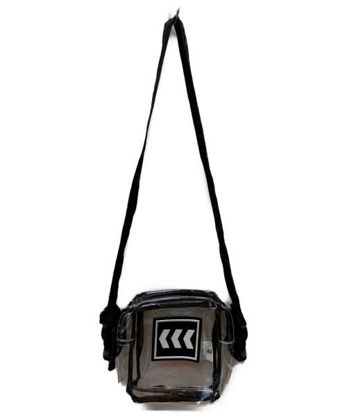 NERD UNIT(ナードユニット)NERD UNIT (ナードユニット) PVCショルダーバッグ ブラック×クリアの古着・服飾アイテム