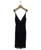 IENA LA BOUCLE(イエナ ラ ブークル)の古着「キャミソールワンピース」|ブラック