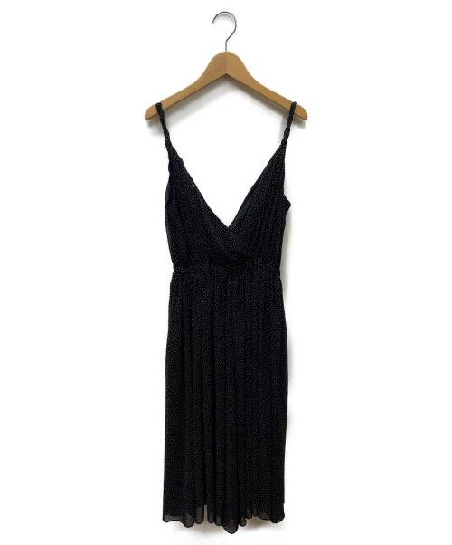 IENA LA BOUCLE(イエナ ラ ブークル)IENA LA BOUCLE (イエナ ラ ブークル) キャミソールワンピース ブラック サイズ:SIZE 38の古着・服飾アイテム