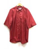 POURTON DE MOI(ポアトアデモア)の古着「SSサイロンシャツ」|レッド
