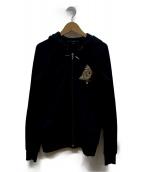 GUCCI(グッチ)の古着「ジップパーカー」|ブラック