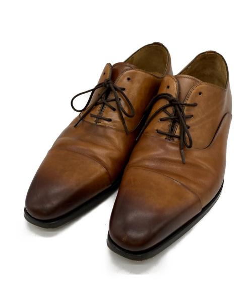 MAGNANNI(マグナーニ)MAGNANNI (マグナーニ) ストレートチップシューズ ブラウン サイズ:43の古着・服飾アイテム
