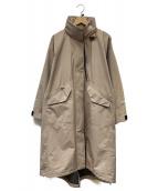 THE NORTH FACE×HYKE(ザノースフェイス × ハイク)の古着「GTX Military Coat」|ベージュ