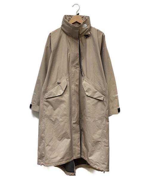 THE NORTH FACE×HYKE(ザ ノースフェイス×ハイク)THE NORTH FACE×HYKE (ザノースフェイス × ハイク) GTX Military Coat ベージュ サイズ:SIZE Mの古着・服飾アイテム