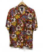 POLO JEANS CO.(ポロジーンズカンパニー)の古着「アロハシャツ」|レッド