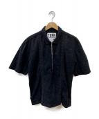 TIGHTBOOTH PRODUCTION(タイトブースプロダクション)の古着「Half Zip Shirt」|ブラック