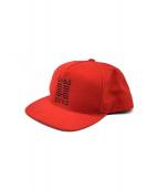 Supreme(シュプリーム)の古着「dead prez cap」|レッド