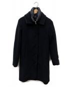 HERNO(ヘルノ)の古着「ライナー付きウールコート」|ブラック