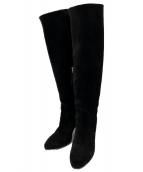 BUTTERO(ブッテーロ)の古着「ニーハイブーツ」|ブラック