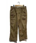 Engineered Garments(エンジニアードガーメンツ)の古着「コーデュロイブッシュパンツ」|ベージュ
