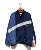 X-LARGE(エクストララージ)の古着「REFLECTOR ZIP JACKET」|ネイビー
