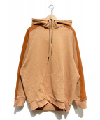 REEBOK(リーボック)の古着「VB Oversize Hoodie」|ベージュ