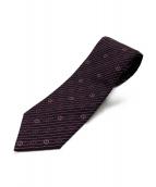 GUCCI(グッチ)の古着「GG柄ネクタイ」|ワインレッド