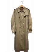 Burberrys(バーバリーズ)の古着「[OLD]一枚袖 vintage coat」|ベージュ