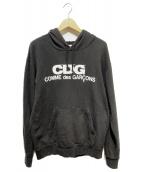 CDG(コム・デ・ギャルソン)の古着「プルオーバーパーカー」|ブラック