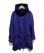 tsumori chisato(ツモリチサト)の古着「ライナー付モッズコート」|ブルー