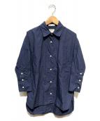 MADISON BLUE(マディソンブルー)の古着「J.BRADLEY CUFF SHIRT」|ネイビー