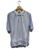 eYe COMME des GARCONS JUNYAWAT(コムデギャルソンジュンヤワタナベマン)の古着「コラボポロシャツ」|ブルー