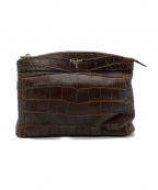 serapian(セラピアン)の古着「LEISURE14 WASH BAG」 ブラウン
